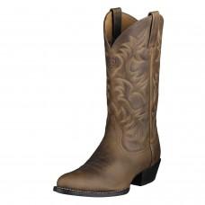 Ariat Men's 10002204 Brown Western Heritage Cowboy Boots