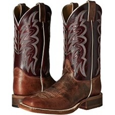 Justin Ladies BRL372 Yancey Burgundy