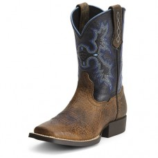 Ariat Kid's Tombstone Square Toe Western Boots 10012794