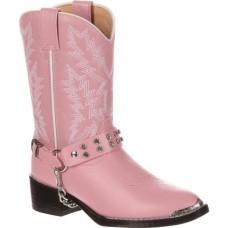 Durango Childs Pink Rhinestone Western Boot BT568