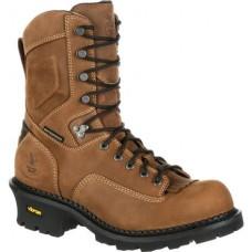 Georgia Mens Boot Composite Toe Waterproof Insulated Logger Work Boot GB00098
