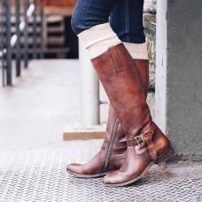 Frye Ladie's Melissa Knotted Tall 3476791-RDD