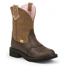 JUSTIN LADIES CAFE BROWN GYPSY BOOTS