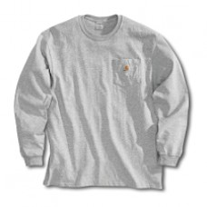 Carhartt Men's Long Sleeve Pocket T-shirt K126HGY