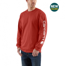 Carhartt Long Sleeve Graphic Logo Tshirt K231CHI