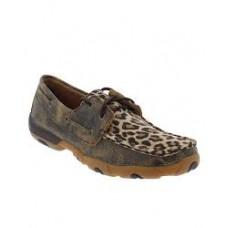 Twisted X Ladies Leopard Deck Shoe WDM0057