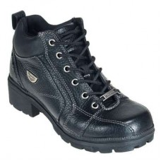 Milwaukee Boots: Women's Leather Motorcycle Boots MVB236