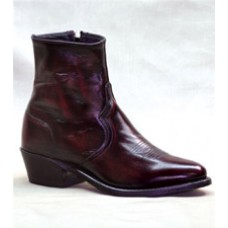 Sage Mens Black Cherry Zipper Boot 3147
