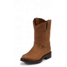 Justin Youth Aged Bark Work Boot 4782Y